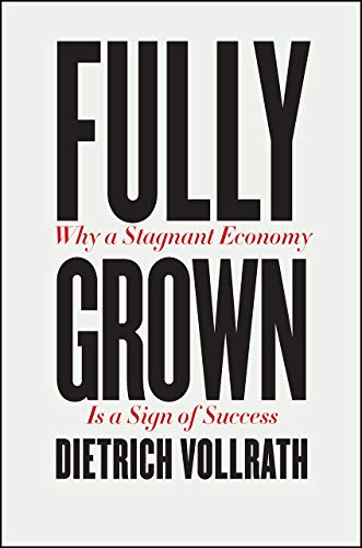 Fully Grown - Why a Stagnant Economy Is a Sign of Success