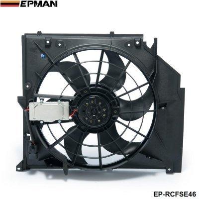 Kühler Kondensator-Lüfter (Brushless Motor) für BMW 3er E46 99-06 325i