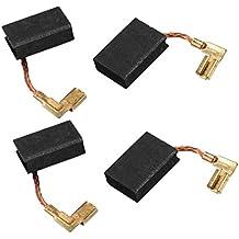 sourcingmap® 2 pares de Escobillas de carbón de Motor perforación eléctrico útil ...