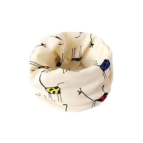 VI. yo gato pañuelo de los niños dibujos animados niños niñas niños algodón cuello bufandas Multi uso calentador de… 2