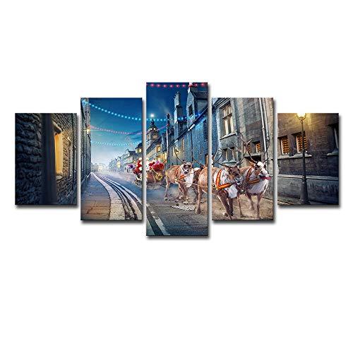 LYXLQ Leinwandbilder, Wandbilder, Street Cartoon Anime Home Decoration Painting,M -