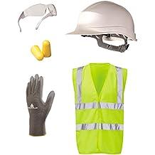 Apprenticeship PPE safety kit - Gloves Hard Hat Ear Plugs Safety Specs & Vest