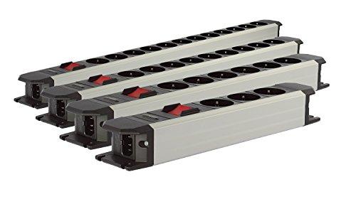 Goldkabel POWERLINE Flex mit Schalter 6-fach