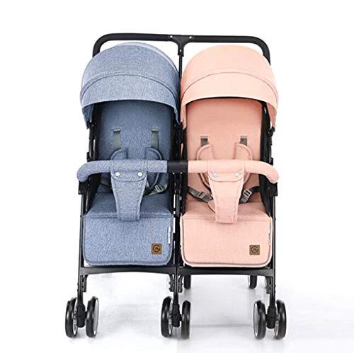 YZ-YUAN Kinderwagen Kombikinderwagen Twin Baby Combi Kinderwagen