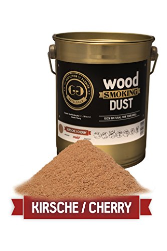 Grillgold Räuchermehl Wood Smoking Dust Eimer 2 Liter Kirsche / Cherry
