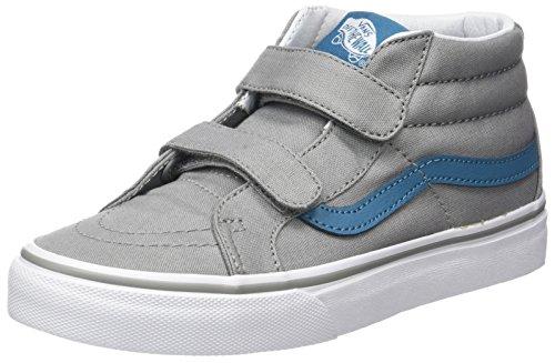 Vans Jungen Uy Sk8-Mid Reissue V Hohe Sneakers Grau (Canvas Wild Dove/larkspur)