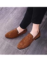LOVDRAM Zapatos De Cuero Para Hombre Mocasines De Cuero De Los Hombres Mocasines Mocasines De Los