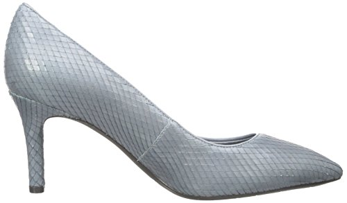 Rockport Total Motion Femmes Cuir Talons Icey Blue Diamond Snake