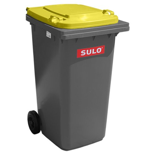 *Sulo MGB 240 liter Grau mit Deckel Gelb*