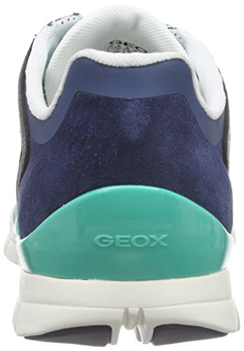 Geox D Sukie B, Baskets Basses Femme Vert (C3B4R)