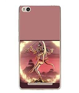 PrintVisa Animated Lord Shiv Mahadeva High Gloss Designer Back Case Cover for Xiaomi Redmi 3s