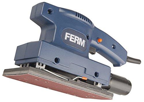 Preisvergleich Produktbild FERM PSM1027 Flachschleifmaschine 135W - Mit Staubsaugadapter und ein Schleifplatte (P80)