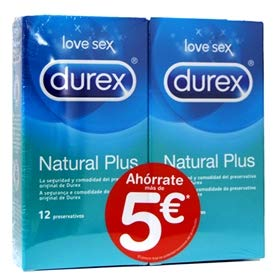 Durex Preservativos Natural Plus Pack Ahorro