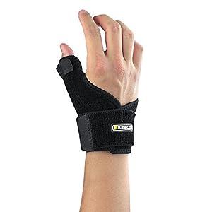 BRACOO reversible Daumenbandage | Passt rechts & links | Daumenumfang bis 6 cm | Daumenschiene bei Sehnenentzündung & Kapselverletzung | TP30
