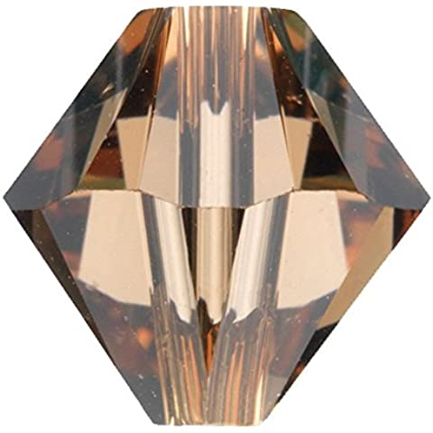 5328SWAROVSKI–6mm perline bicono xilion–Light Smoked (Swarovski Xilion Diamante)