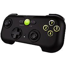 Hi-SHOCK® Bluetooth Game Controller / Travel, Nomad Gamepad / Joystick für Android-Smartphones / Tablets [wiederaufladbar   Android   schwarz-matt]