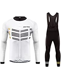 Uglyfrog Bike Wear De Invierno Manga Larga Maillot Ciclismo Hombre Bodies Long Bib Tights with Gel