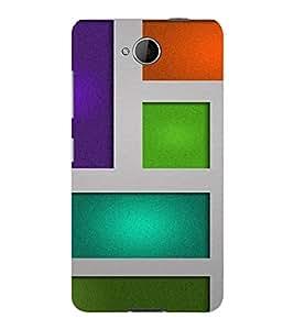 PrintVisa Box Pattern 3D Hard Polycarbonate Designer Back Case Cover for Nokia Lumia 650