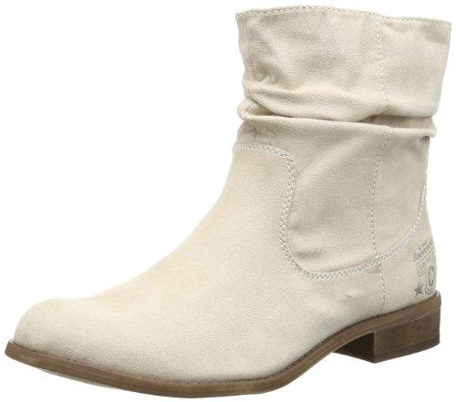 s.Oliver Casual 5-5-25317-22 Damen Stiefel, Elfenbein (Ivory 418), EU 40