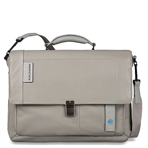 Piquadro - CA3111P15 - Collection Pulse - Besace, gris (gris) - CA3111P15/GR gris