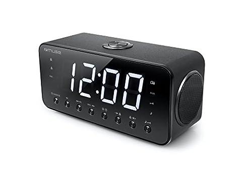 Muse M-192 CR Radio/Radio-réveil