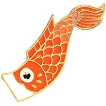 Beaums Chaqueta de la Camisa de Pescado diseño de Dibujos Animados Broche del Goteo del Aceite