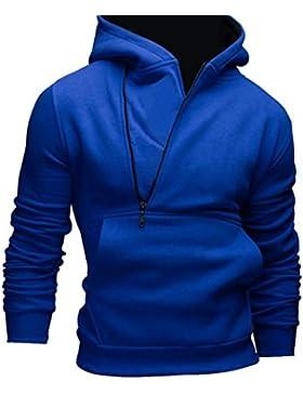 OverDose abrigo hombre sudadera con capucha la chaqueta // Compre 2 tamaños más grandes//