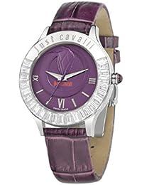 Just Cavalli Damen-Armbanduhr Analog Quarz Leder R7251597503