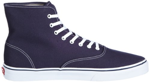 Vans U AUTHENTIC HI VRQF0PZ Unisex-Erwachsene Sneaker Blau (Navy/True White)