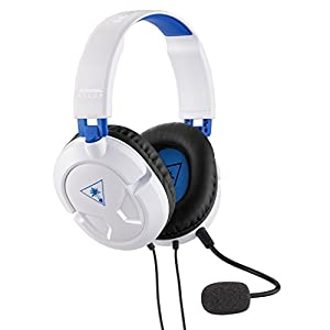 Turtle Beach Recon 50P White Gaming Headset for PS4/Xbox One and PC