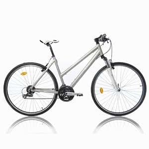 Btwin Riverside 3 Trekking Bike, Women's Large