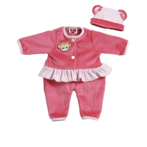 Adora Giggle Time Baby Doll Pink Monkey Outfit by Adora (English Manual) (Outfit Adora Doll)