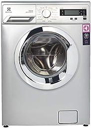 Electrolux 8 Kg 1200 RPM Front Load Washing Machine, Silver - EWF8251SXM, 1 Year Warranty