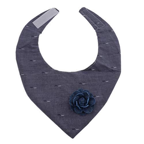 lstuch Hundehalsband Halstuch Bandana Schal mit Blume Dekor - Cowboy ()
