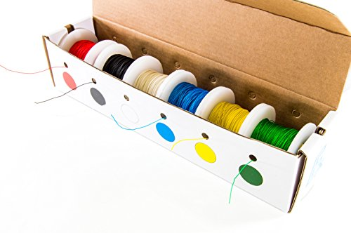 electronix-express-30-gauge-wire-wrap-solid-kynartm-insulated-wire-kit-6-100ft-spools-6-x-30-gauge