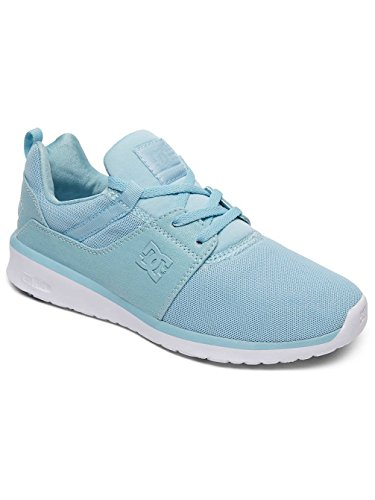 DC Shoes Heathrow, Sneakers Basses Femme Bleu - Light Blue