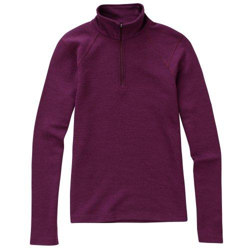 Ibex Outdoor Bekleidung Damen Shak Jersey, Herren, Vino Rojo (Ibex-wolle-jersey)