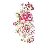 16x11 cm tattoo stickers waterproof roses