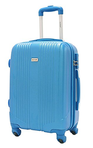 Valise cabine 55cm - Trolley ALISTAIR Airo - ABS - Bleu Ciel