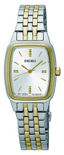Seiko Femmes Analogique Quartz Montre avec Bracelet en Acier Inoxydable SRZ472P1