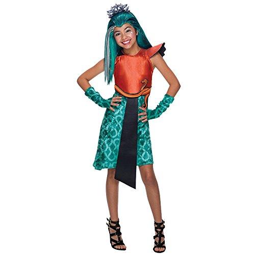 Kostüm High Monster Nefera - Monster High Nefera Gr. L (8-10 Jahre) Fasching Karneval Kostüm Kinderkostüm Mottoparty Kleid Boo York