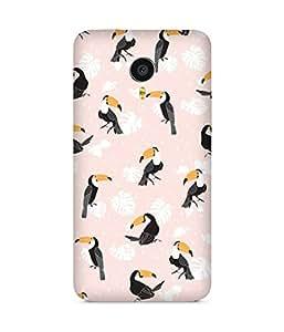 Pink Bird Meizu MX4 Case
