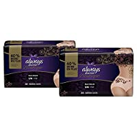 Always Discreet Boutique Incontinence Maximum Protection Underwear for Women, Small/Medium, 20 Count- Pack of 2 (40 Count Total)