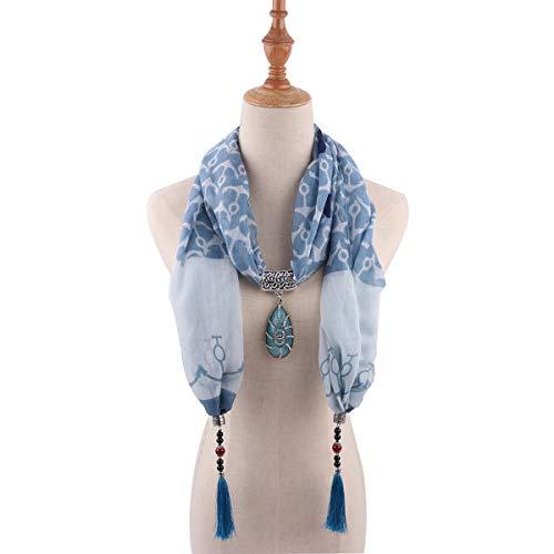 TDPYT Schal Im Nationalen Stil Halsketten Halsketten Schals Kostüme Accessoires 1840 3 5'9
