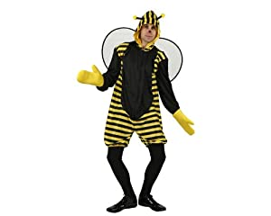 Atosa-95386 Disfraz Abeja, color amarillo, XL (95386)