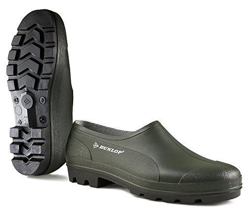 scarpa-dunlop-bicolore-wellie-verde-scuro-nero-senza-puntale-in-acciaio-42-b350611