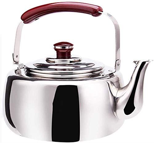 L.TSA Kettle Große Kapazität Home Kitchen 304 Edelstahl Induktionsherd Gas Allgemeine Automatische Pfeife Gesundheit