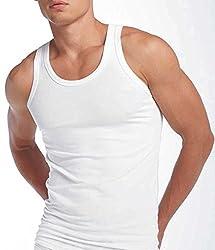 VIP Mens Cotton Vest - 90cm (Pack of 5)