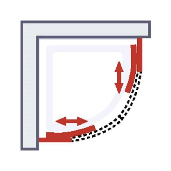schulte cabine de douche compl te corsica cabine de douche int grale arrondie vert d 39 eau. Black Bedroom Furniture Sets. Home Design Ideas
