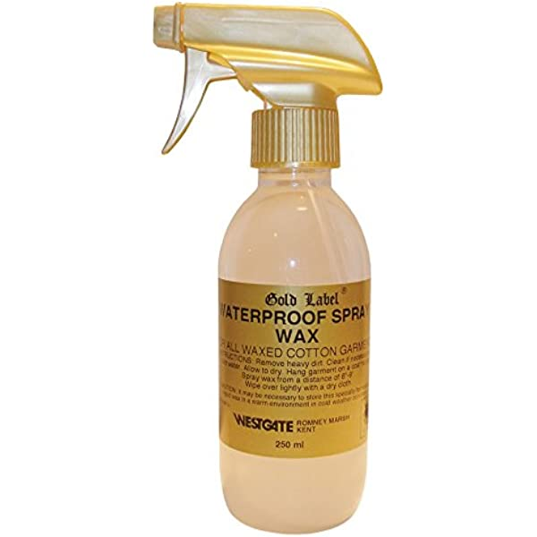 Cera impermeable en aerosol de Gold Label, para prendas de ...